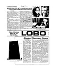 New Mexico Daily Lobo, Volume 077, No 74, 1/22/1974 by University of New Mexico