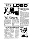 New Mexico Daily Lobo, Volume 077, No 77, 1/25/1974 by University of New Mexico