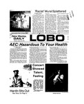 New Mexico Daily Lobo, Volume 077, No 78, 1/28/1974 by University of New Mexico