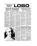New Mexico Daily Lobo, Volume 077, No 79, 1/29/1974 by University of New Mexico