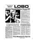 New Mexico Daily Lobo, Volume 077, No 82, 2/1/1974 by University of New Mexico