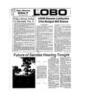 New Mexico Daily Lobo, Volume 077, No 87, 2/8/1974 by University of New Mexico