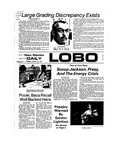 New Mexico Daily Lobo, Volume 077, No 89, 2/12/1974 by University of New Mexico
