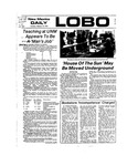 New Mexico Daily Lobo, Volume 077, No 91, 2/14/1974 by University of New Mexico