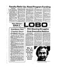 New Mexico Daily Lobo, Volume 077, No 93, 2/18/1974 by University of New Mexico