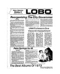 New Mexico Daily Lobo, Volume 077, No 95, 2/20/1974 by University of New Mexico