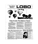 New Mexico Daily Lobo, Volume 077, No 98, 2/25/1974 by University of New Mexico