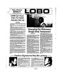 New Mexico Daily Lobo, Volume 077, No 100, 2/27/1974 by University of New Mexico