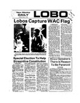 New Mexico Daily Lobo, Volume 077, No 103, 3/4/1974 by University of New Mexico