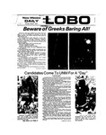 New Mexico Daily Lobo, Volume 077, No 106, 3/7/1974 by University of New Mexico