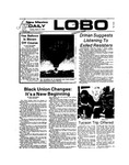 New Mexico Daily Lobo, Volume 077, No 109, 3/12/1974