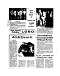 New Mexico Daily Lobo, Volume 077, No 111, 3/14/1974 by University of New Mexico