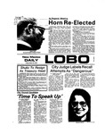 New Mexico Daily Lobo, Volume 077, No 112, 3/15/1974 by University of New Mexico