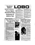 New Mexico Daily Lobo, Volume 077, No 113, 3/25/1974 by University of New Mexico