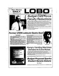 New Mexico Daily Lobo, Volume 077, No 115, 3/27/1974 by University of New Mexico