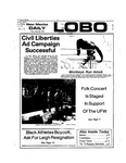 New Mexico Daily Lobo, Volume 077, No 117, 3/29/1974 by University of New Mexico
