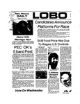 New Mexico Daily Lobo, Volume 077, No 118, 4/1/1974 by University of New Mexico