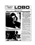 New Mexico Daily Lobo, Volume 077, No 122, 4/5/1974 by University of New Mexico