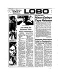 New Mexico Daily Lobo, Volume 077, No 125, 4/10/1974 by University of New Mexico