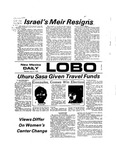 New Mexico Daily Lobo, Volume 077, No 126, 4/11/1974 by University of New Mexico
