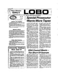 New Mexico Daily Lobo, Volume 077, No 131, 4/18/1974 by University of New Mexico