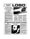 New Mexico Daily Lobo, Volume 077, No 132, 4/19/1974 by University of New Mexico