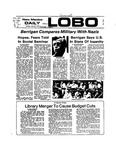 New Mexico Daily Lobo, Volume 077, No 133, 4/22/1974 by University of New Mexico