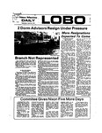 New Mexico Daily Lobo, Volume 077, No 135, 4/24/1974 by University of New Mexico