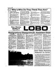 New Mexico Daily Lobo, Volume 077, No 136, 4/25/1974 by University of New Mexico