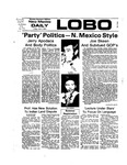 New Mexico Daily Lobo, Volume 077, No 144, 6/7/1974 by University of New Mexico