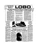 New Mexico Daily Lobo, Volume 077, No 146, 6/20/1974 by University of New Mexico