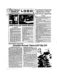 New Mexico Daily Lobo, Volume 077, No 147, 6/27/1974 by University of New Mexico