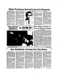 New Mexico Daily Lobo, Volume 077, No 148, 7/3/1974 by University of New Mexico