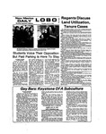 New Mexico Daily Lobo, Volume 077, No 149, 7/11/1974 by University of New Mexico