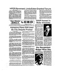 New Mexico Daily Lobo, Volume 077, No 150, 7/18/1974