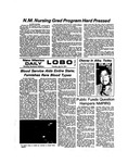 New Mexico Daily Lobo, Volume 077, No 151, 7/25/1974 by University of New Mexico