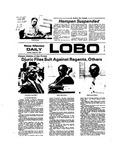 New Mexico Daily Lobo, Volume 078, No 3, 8/27/1974