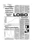 New Mexico Daily Lobo, Volume 078, No 11, 9/9/1974 by University of New Mexico