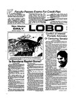 New Mexico Daily Lobo, Volume 078, No 13, 9/11/1974 by University of New Mexico