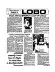 New Mexico Daily Lobo, Volume 078, No 14, 9/12/1974