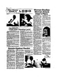 New Mexico Daily Lobo, Volume 078, No 15, 9/13/1974 by University of New Mexico