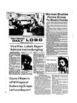 New Mexico Daily Lobo, Volume 078, No 18, 9/18/1974 by University of New Mexico