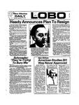 New Mexico Daily Lobo, Volume 078, No 19, 9/19/1974 by University of New Mexico