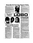 New Mexico Daily Lobo, Volume 078, No 22, 9/24/1974 by University of New Mexico