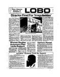 New Mexico Daily Lobo, Volume 078, No 24, 9/26/1974 by University of New Mexico