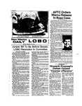 New Mexico Daily Lobo, Volume 078, No 26, 9/30/1974 by University of New Mexico
