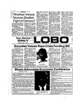 New Mexico Daily Lobo, Volume 078, No 27, 10/1/1974 by University of New Mexico
