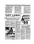 New Mexico Daily Lobo, Volume 078, No 30, 10/4/1974