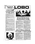 New Mexico Daily Lobo, Volume 078, No 32, 10/8/1974