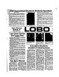 New Mexico Daily Lobo, Volume 078, No 36, 10/14/1974
